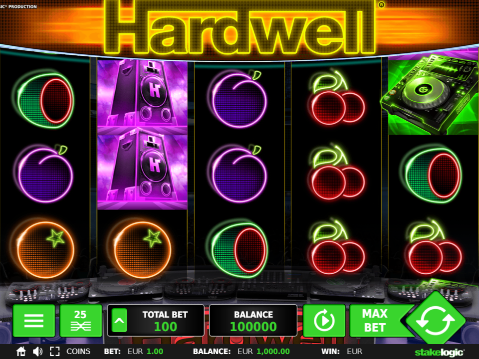 Stakelogic Hardwell Slot Review