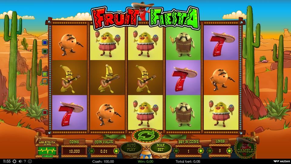 Wazdan Fruit Fiesta Slot Review