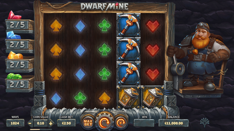 Yggdrasil Dwarf Mine Slot Review