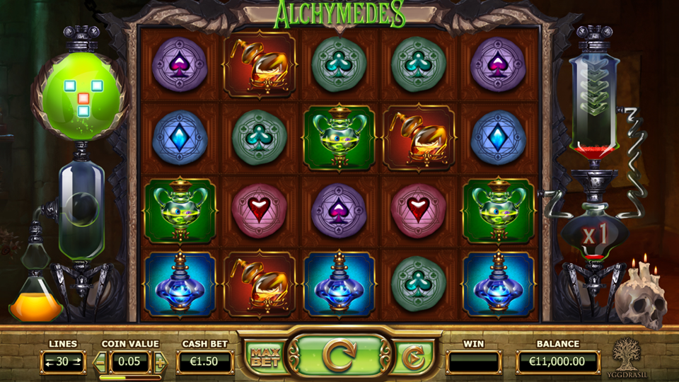 Yggdrasil Alchymedes Slot Review