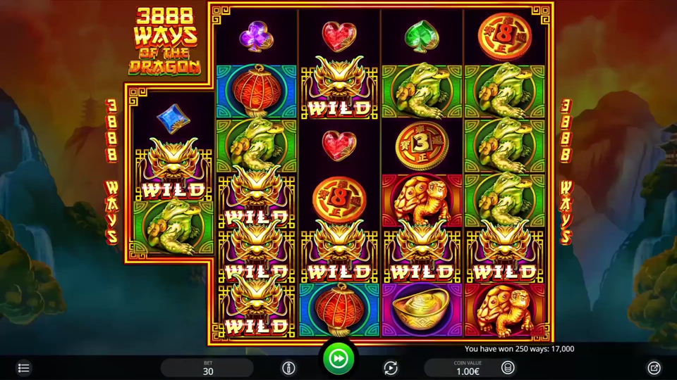 iSoftBet 3888 Ways of the Dragon Slot Review