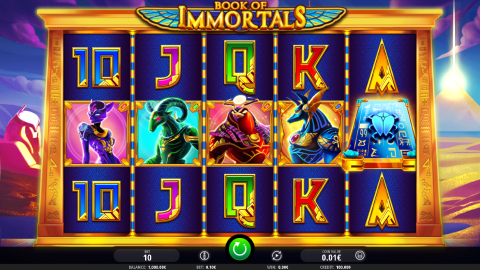 iSoftBet Book of Immortals Slot Review