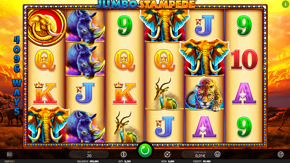 Jumbo Stampede Slot By Isoftbet Review November 2019