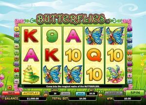 Butterflies Slot Review