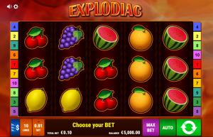 Explodiac Slot Review