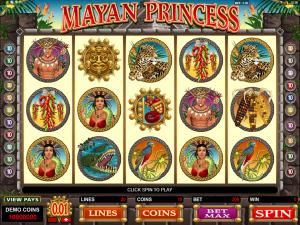 Mayan Princess Slot Review