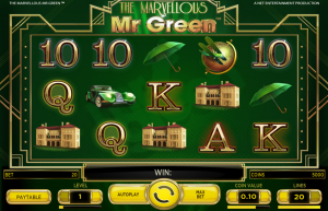 The Marvelous Mister Green Slot Review