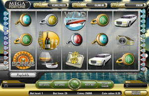 Mega Fortune Touch Slot Review