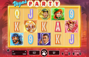 Vegas Party mobil Slot Review