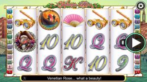 Venetian Rose Slot Review