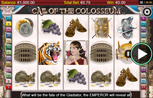 Call of the Colloseum mobil Slot Review