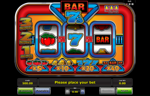 Bar 7s Slot Review