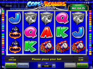 Cops'n'Robbers Millionaires Row Slot Review