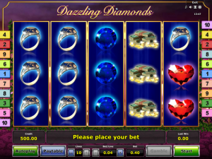 Dazzling Diamonds Slot Review