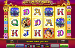Golden Cobras Deluxe Slot Review