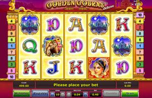 Golden Cobras Deluxe Slot Review