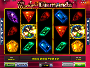Marylins Diamonds Slot Review