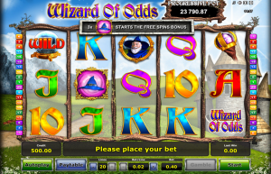 Wizard of Odds Slot Review