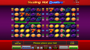 Sizzling Hot Quattro Slot Review