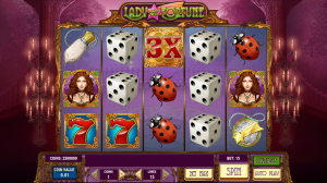Lady Of Fortune Slot Review