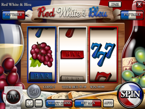 Red, White and Bleu Slot Review