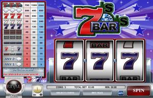 Sevens and Bars Slot Review