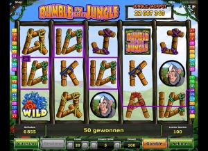 Rumble in the Jungle Slot Review