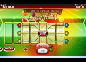 Super Fruity Slot Review