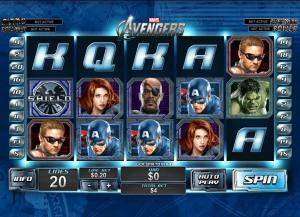 The Avengers Slot Review