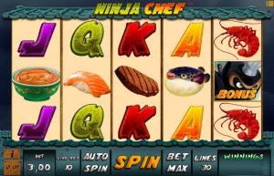 Ninja Chef Slot Review
